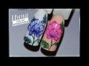 🌺 РИСУЕМ цветок на ногтях 🌺 гель лаки MIIS 🌺 Дизайн ногтей гель лаком 🌺 Nail Design Sh