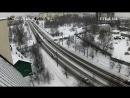 Красноармейская ул мост через Лососинку с Мой Дом 16 02 2018 14 46 14 48