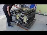Реставрация мотора Porsche 917 за 3 минуты