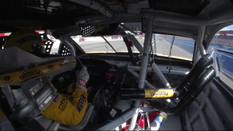 13 - Ty Dillon - Onboard - Fontana - Round 5 - 2018 Monster Energy NASCAR Cup Series