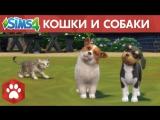 Официальный трейлер The Sims 4 «Кошки и собаки»