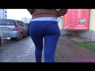 Sexy ass, nice ass, девушка на улице города, попка в джинсах, sexy ass in jeans, big ass, ножки суппер, sexy big ass