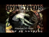 My favorite reefs of the band DYING FETUS....