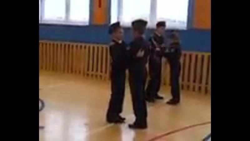 посвящение в кадеты вальс
