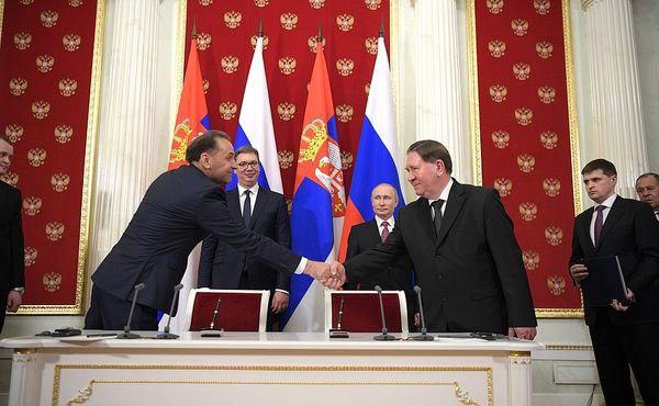 Курская область укрепляет сотрудничество с Сербией
