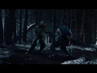 mortal kombat x трейлер скорпион против суб зиро