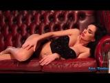 Ann Denise brunette sexy naked girl young instagram model