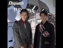 180212 EXO's Chanyeol & Sehun @ Dispatch: Prada Launch Event