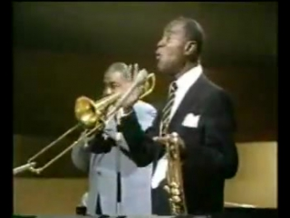 Louis Armstrong-what a wondeful world