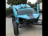 Багги стилизованный под спорткар