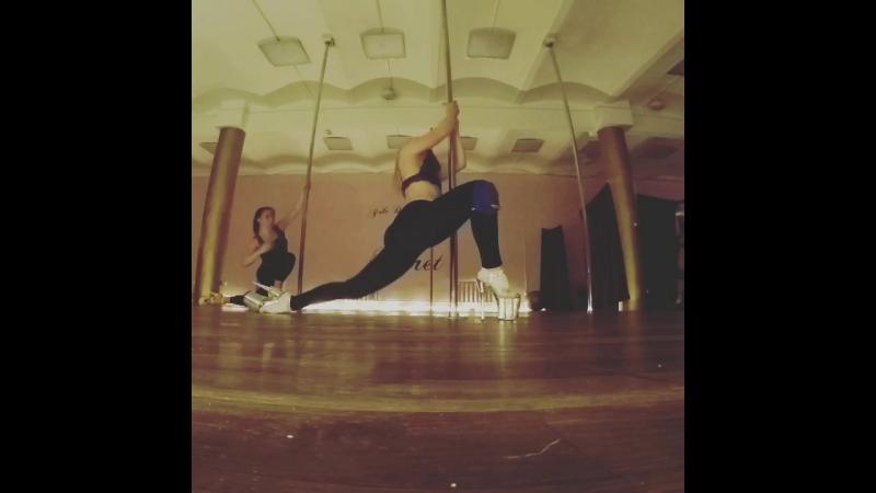 Alena Pona Exotic Pole Dance Workshop