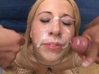 Georgia peach - cumshot (сцена из tear me a new one 3)