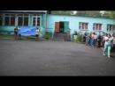 Вынос флага и гимн на линейке открытия 3 смены 2017