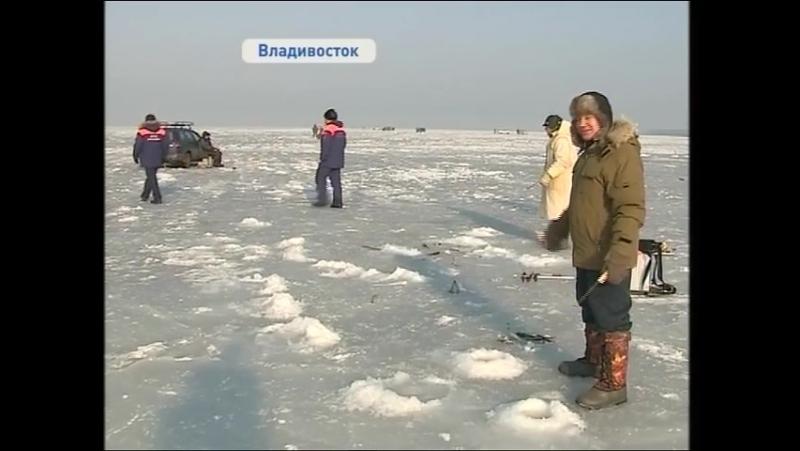 ГИМС предупреждает: выезжать на лед все еще опасно!