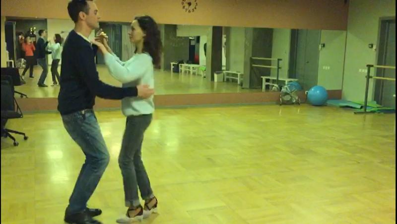 Репетиция свадебного танца Артема и Зои