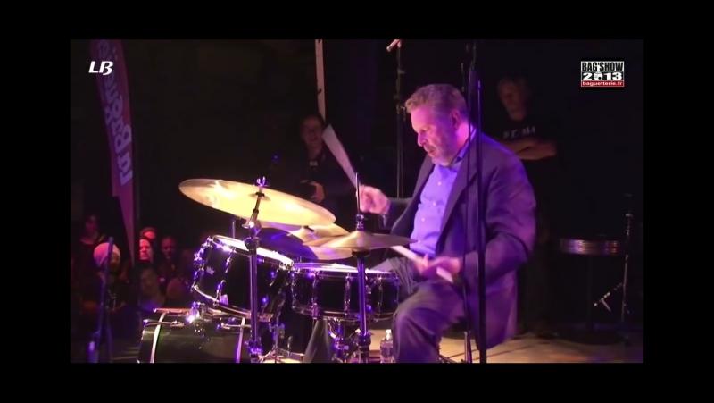 JEFF HAMILTON. Caravan - Drums solo @ Bag Show (2013)