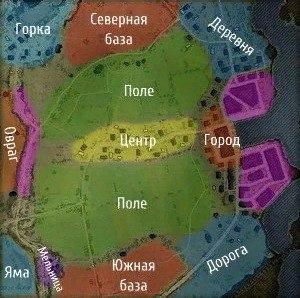 Карта Рыбацкая бухта.