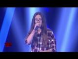 Эта девушка очень классно спела песню Unconditionally на шоу Голос Дети 2018