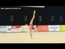 Полина Хонина обруч многоборье Этап Гран при 2017 Брно