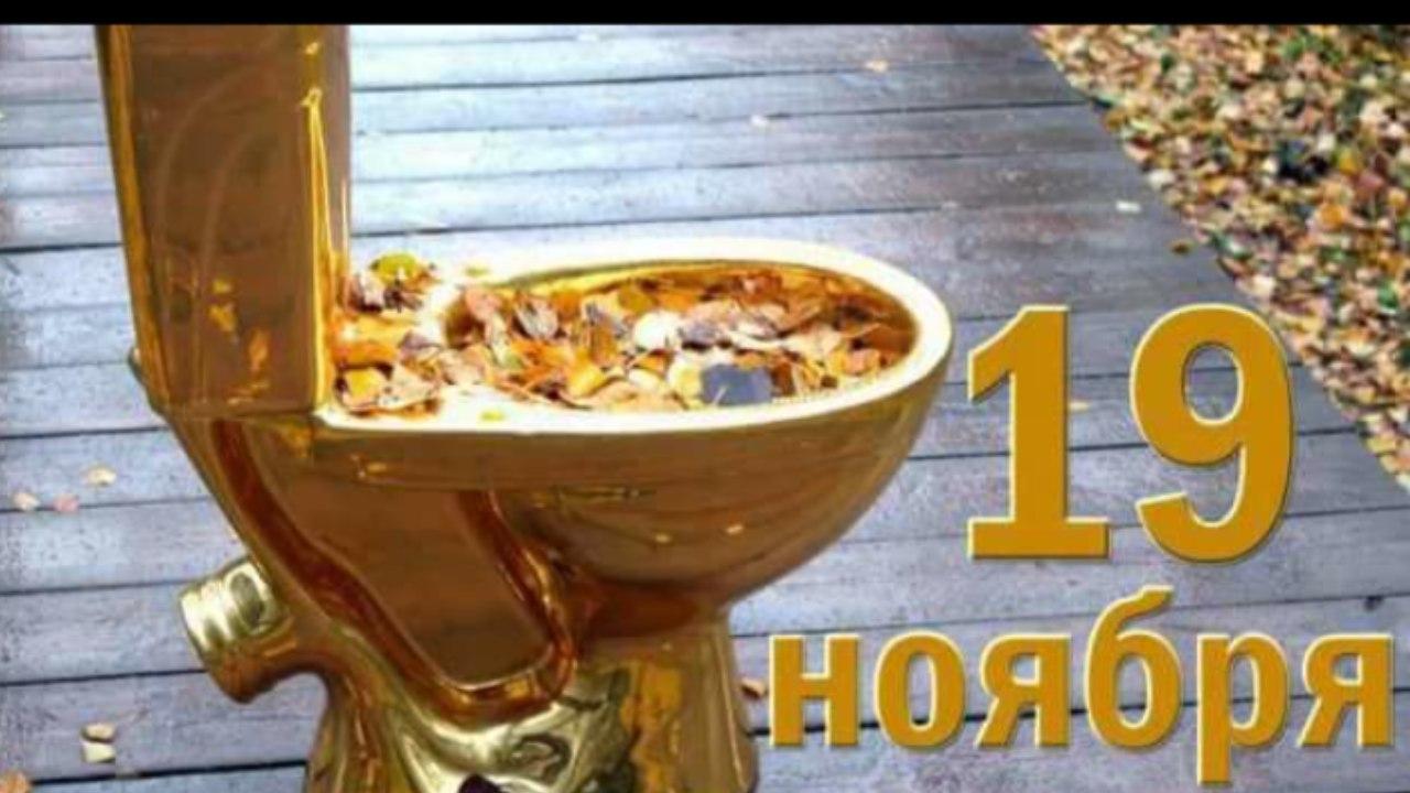 19 ноября - Всемирный день туалета!