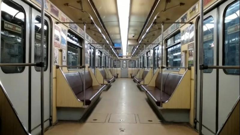 вагон екатеринбургского метро