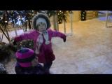 Варя Рязаночка у резиденции Деда Мороза в Рязани