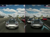 Сравнение графики Forza Motorsport 7 на PC и Xbox One.