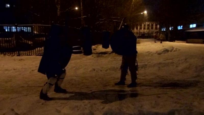 2018-01-15 щиты Саныч - Денис 1