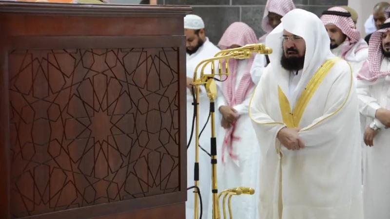 01 December 2017 Sheikh Sudais Fajr Quran Recitaton