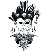 Логотип Джокер. Клуб метания ножей