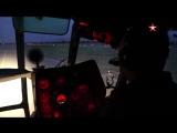 Ночная смена: Ми-24 и Ми-8 патрулируют небо Таджикистана