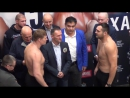 Поветкин vs Хаммер. Взвешивание. Povetkin - Hammer. Weigh-in, face to face