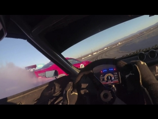 Ferrari powered Toyota on track for the first time, w-Ryan Tuerck #GT4586 - Donut Media