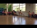 Художественная гимнастика. Показательное выступление