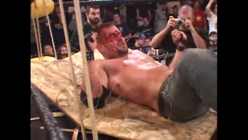 Nick Mondo and Wifebeater vs Toby Klein and Necro Butcher CZW 2002