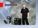 Гантели наборные Ironmaster 34 кг, 1 пара, с подставкой