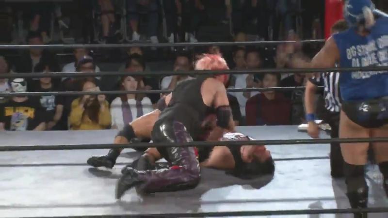 Dick Togo, Shiryu (c) vs. Tokyo Gurentai (FUJITA, MAZADA) (Tokyo Gurentai - Tokyo Love VII)