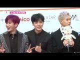 [VK][15.11.2017] Red Carpet MONSTA X, Seventeen @ 2017 Asia Artist Awards by SPOTV STAR