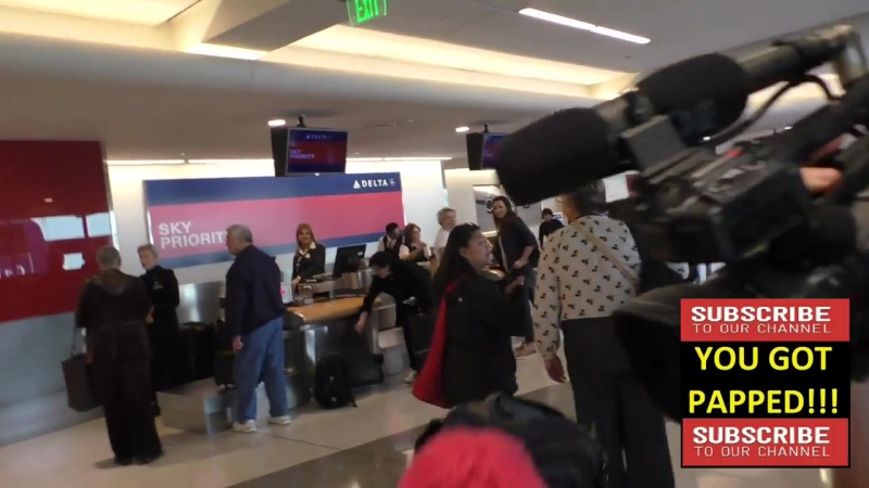 Abigail Spencer departing at LAX Airport in Los Angeles