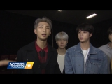 171118 BTS On Getting Compared To The Backstreet Boys  One Direction @ Access Hollywood