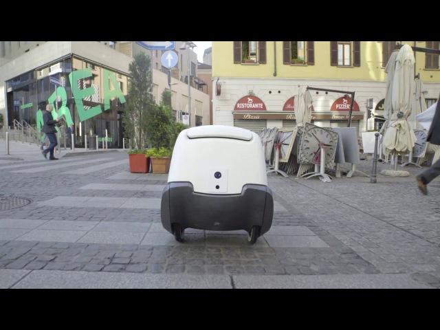 YAPE, il sistema di consegne a domicilio a guida autonoma