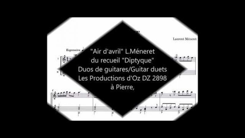 Air davril L.Méneret du recueil Diptyque Les Productions dOz