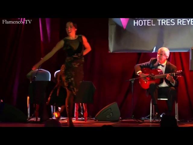 Ana Morales y Miguel Ángel Cortés por farruca (Flamenco On Fire 2017)