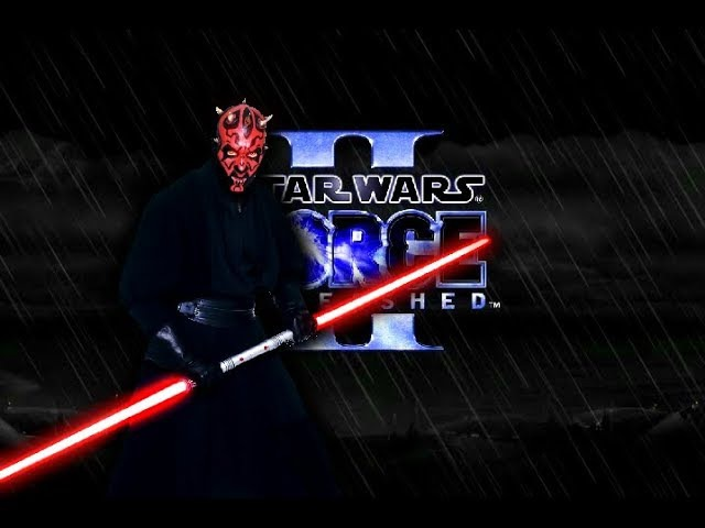Star Wars: The Force Unleashed 2 (PC) - Ultimate Kuku mod - Real Darth Maul Gameplay