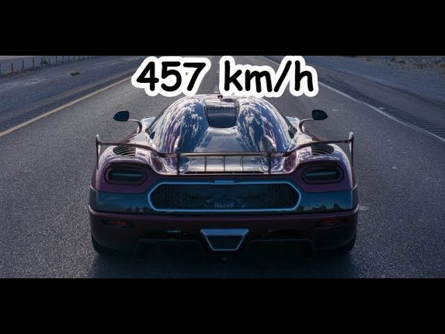 [Top Speed 457 km/h] Koenisegg Agera RS - Bugatti is dead-Fastest Car in the World 2017