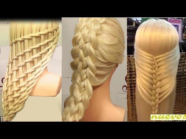 Peinados Para Niñas 2017/Peinados para cabello/ Peinados Faciles bonitos/Trenzas Faciles (170