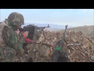 See the progress of the Syrian army and the resistance fighters in the territory of Fleet Balqalmon West and control over the ...