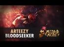 Arteezy (Bloodseeker) EG vs VGJ @ Midas Mode