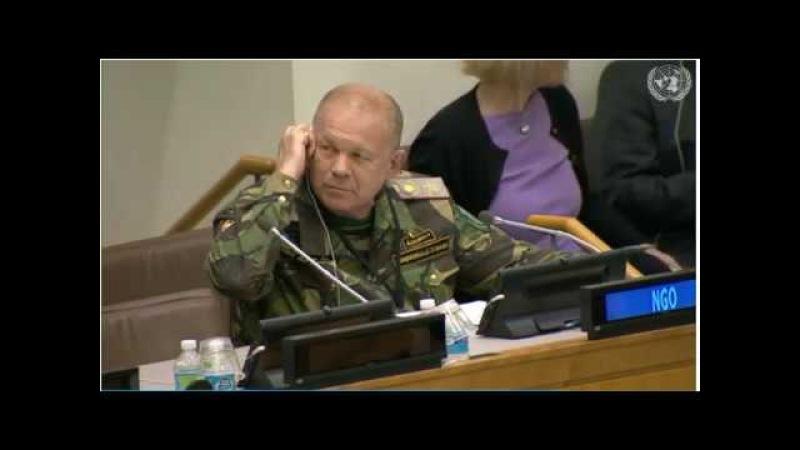 Выступление Верховного Атамана Всемирного Союза Казачьих Атаманов