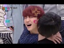 ENG SUB GOT7 MEMBERS KISS JB ON NECK CHEEKS FOREHEAD AND NOSE WITH LIPSTICK ON